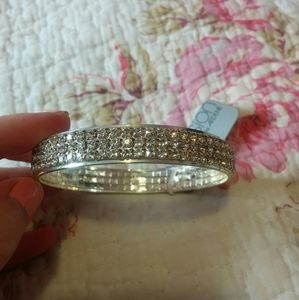 NWT Ardene Occasion - Silver bangle bracelet
